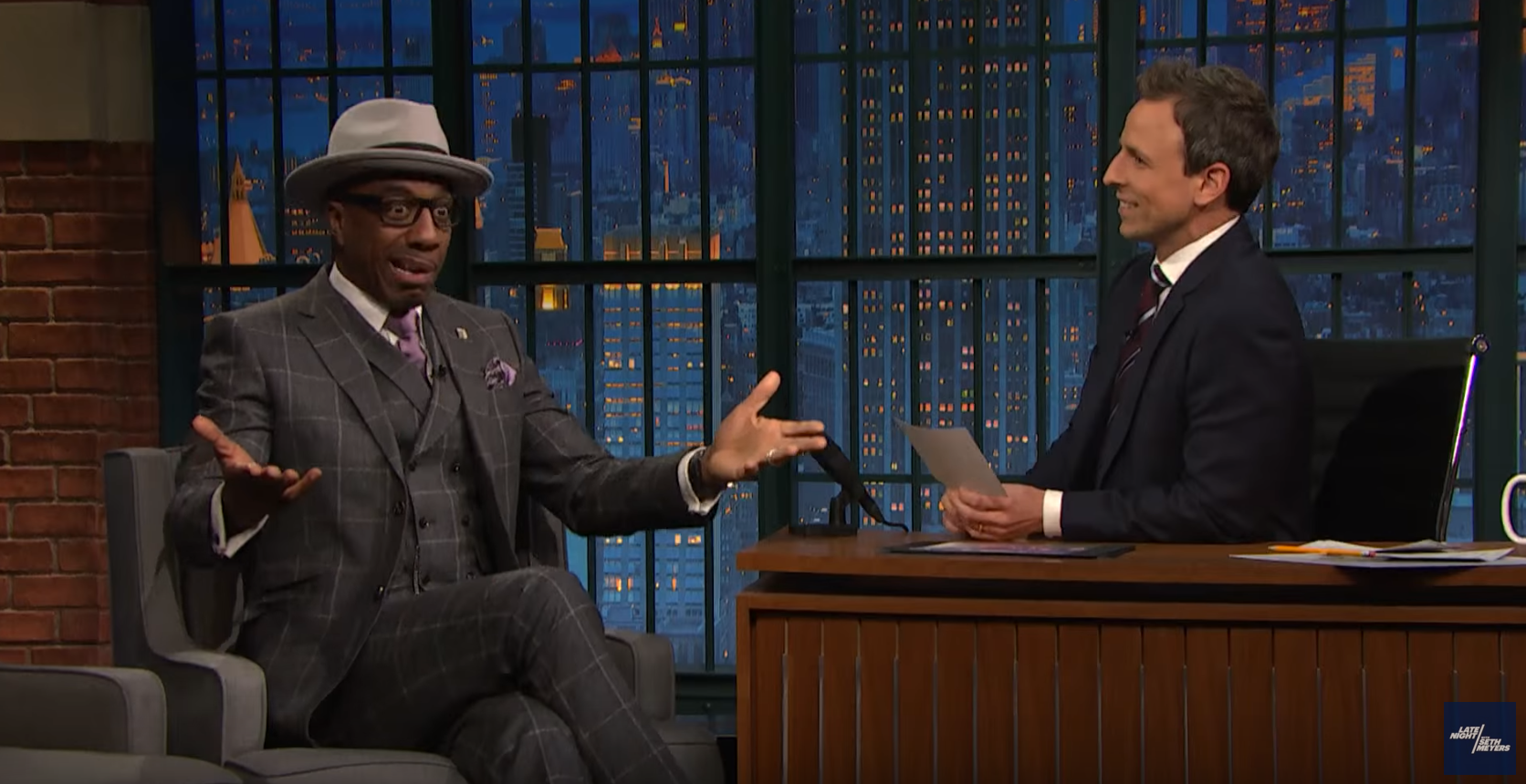JB Smoove recollects his rejected SNL pitches for Seth Meyers