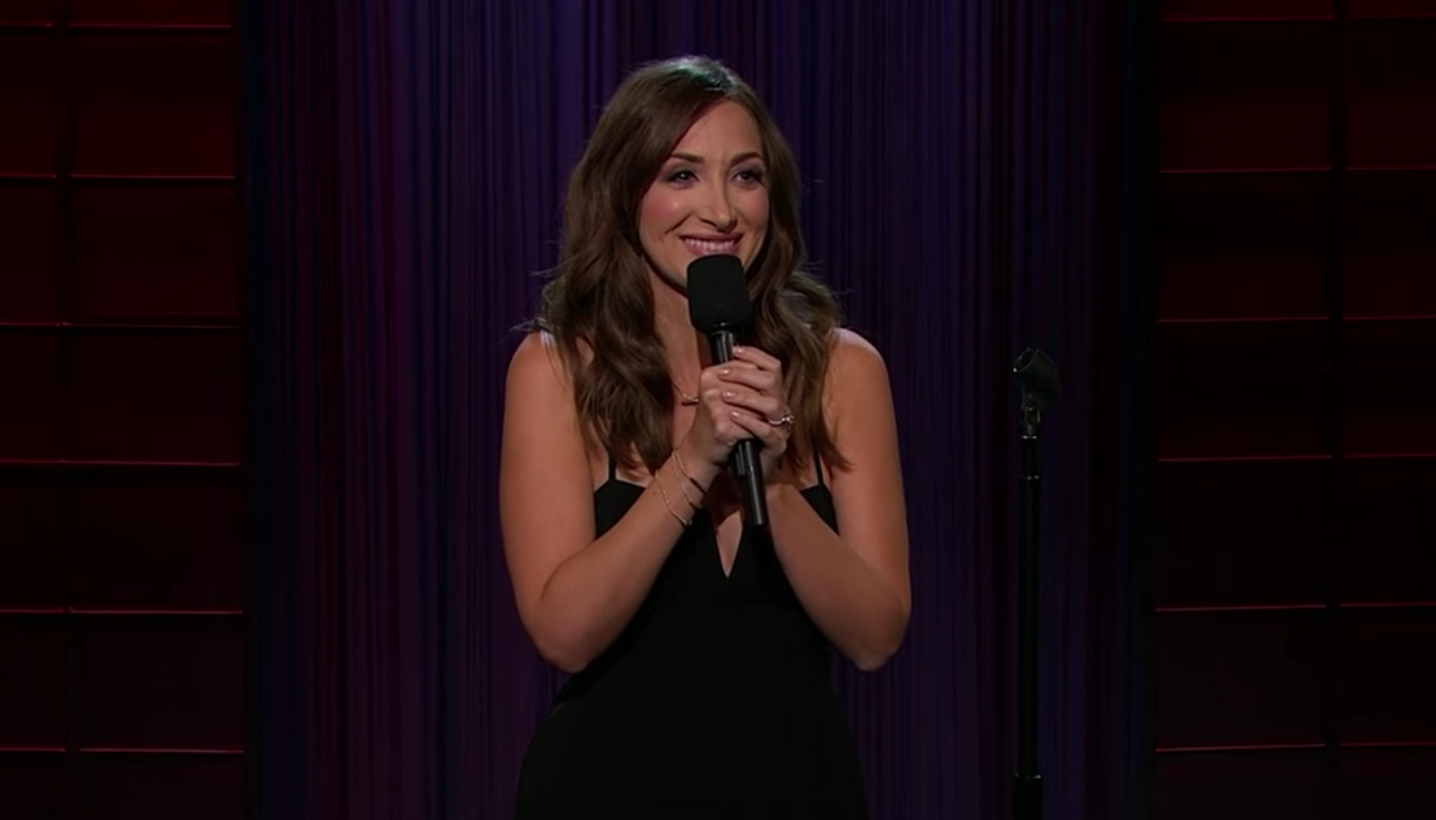 Jamie Lee on the Late Late Show with James Corden
