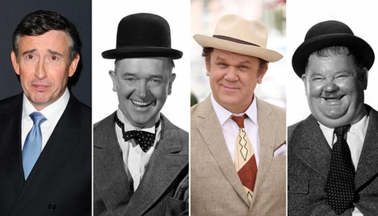 Steve Coogan and John C. Reilly will portray Laurel and Hardy in film depicting duo's final stage tour