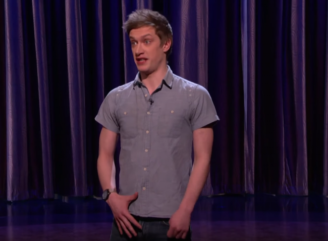 Daniel Sloss makes his fifth appearance on Conan