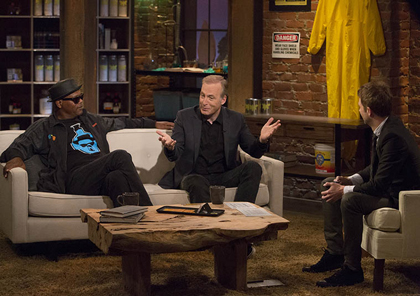 "AMC will add ""Talking Saul"" to Chris Hardwick's hosting duties"