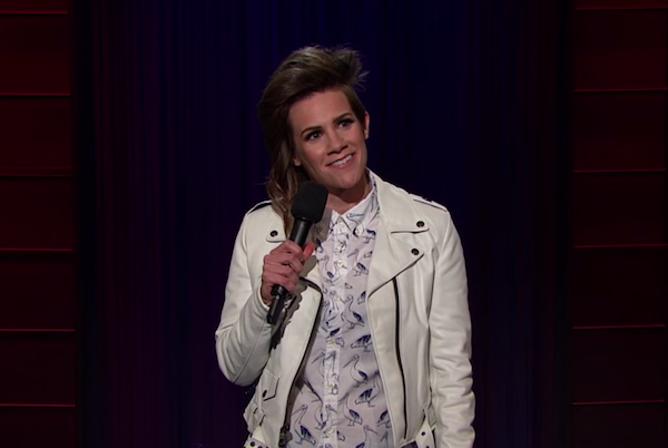 Cameron Esposito on The Late Late Show with James Corden