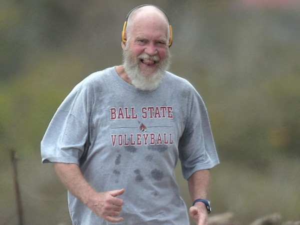David Letterman is turning into Santa Claus