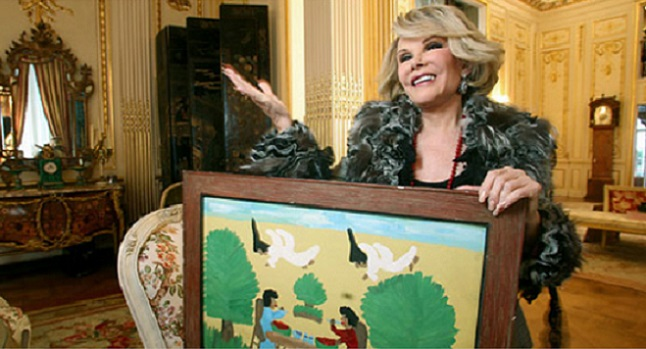 Hundreds of items from the late Joan Rivers NYC apartment up for auction in June 2016