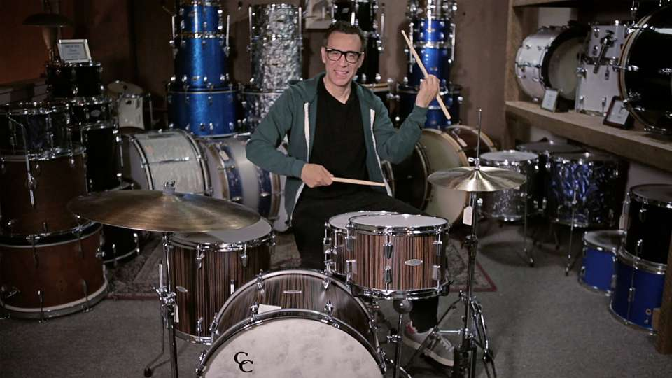 Fred Armisen: How to fake being a drummer