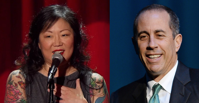 Jerry Seinfeld and Margaret Cho to de-stress Stress Factory audience, ride in Cars Getting Coffee