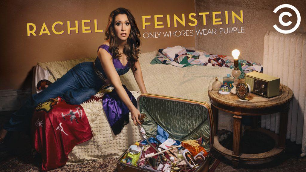 Rachel-Feinstein-only-whores-wear-purple
