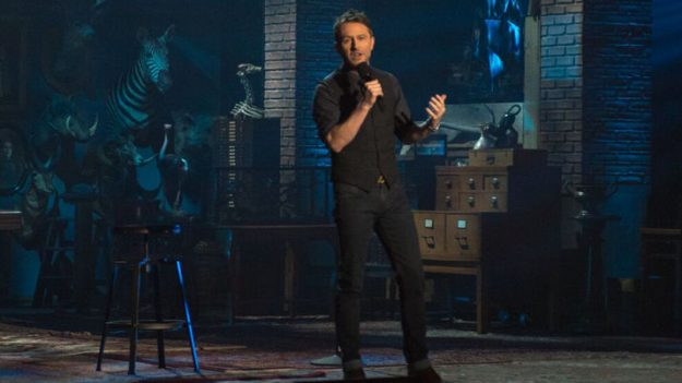 """Review: Chris Hardwick, """"Funcomfortable"""" (Comedy Central)"""