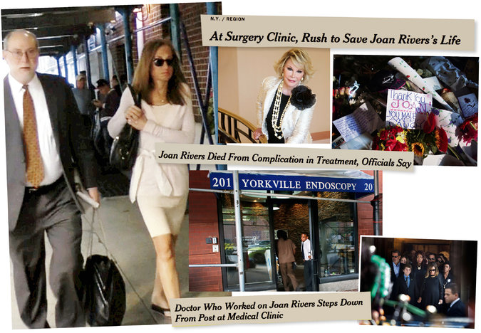 Melissa Rivers settles lawsuit with endoscopy clinic where her mother Joan Rivers died