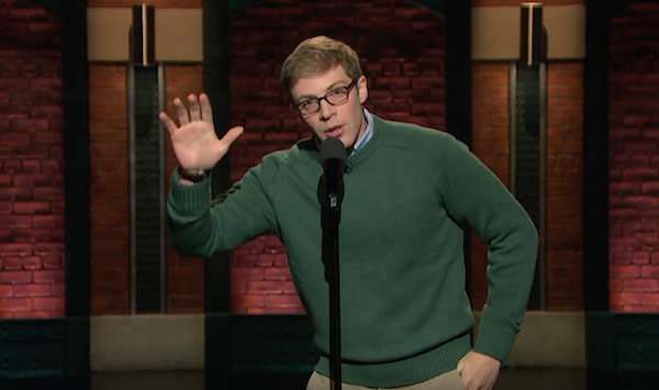 Joe Pera on Late Night with Seth Meyers