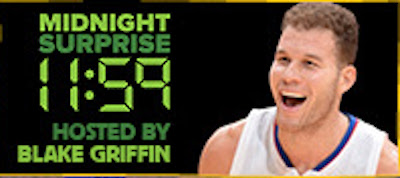"""Blake Griffin hosting """"Midnight Surprise"""" comedy showcases at 2016 Montreal Just For Laughs"""