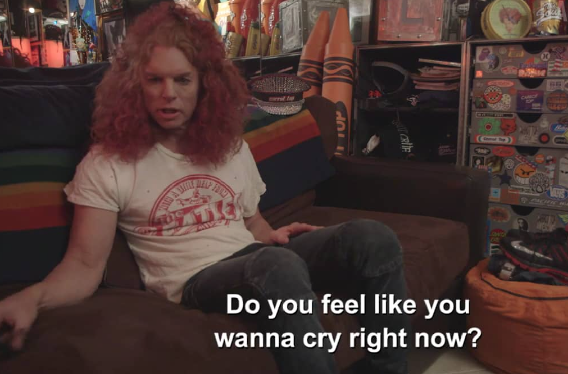 Hanging out with Carrot Top in Las Vegas for VICE Canada