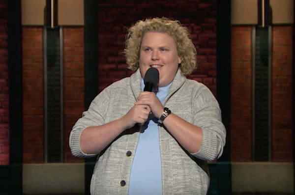 Fortune Feimster on Late Night with Seth Meyers