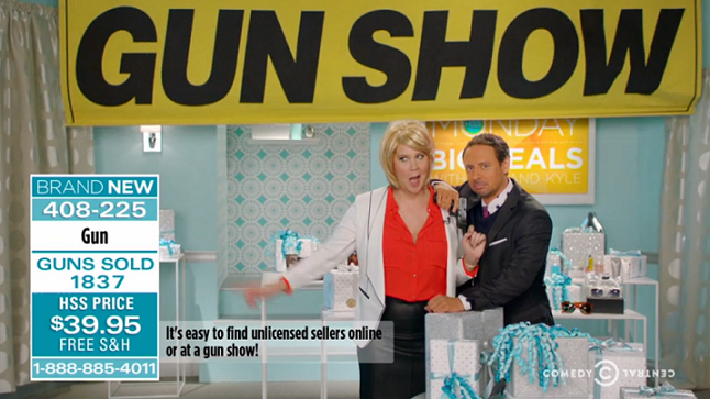 "Inside Amy Schumer unveils previously unaired ""Gun Lawyer"" sketch after latest failed U.S. Senate votes on gun control"