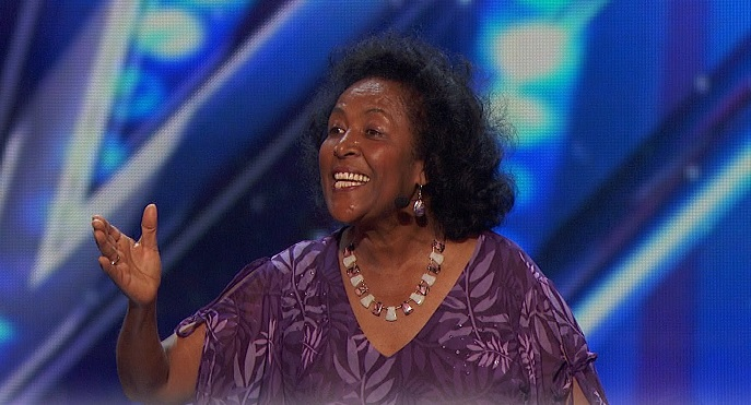 """Laughter Coach"" Tita Begashaw auditions for America's Got Talent 2016"