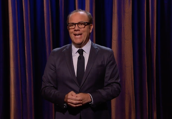 Tom Papa on Conan