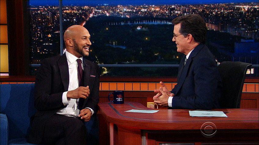Keegan-Michael Key talks improv with Stephen Colbert on The Late Show