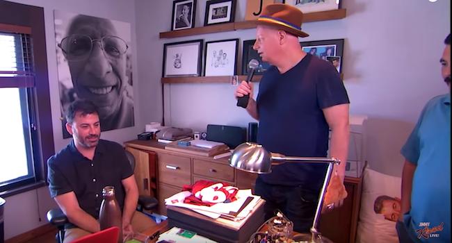 Jeff Ross roasts the staff of Jimmy Kimmel Live