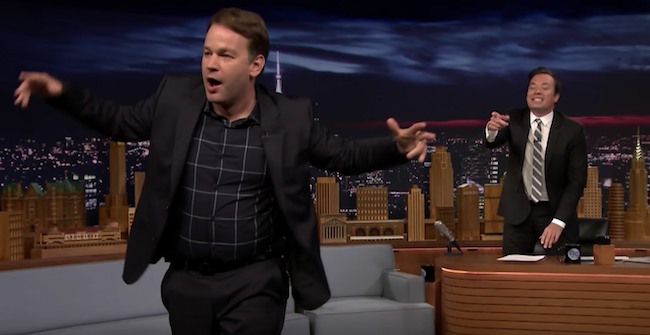 Jimmy Fallon owed money to The Groundlings when he got hired on Saturday Night Live