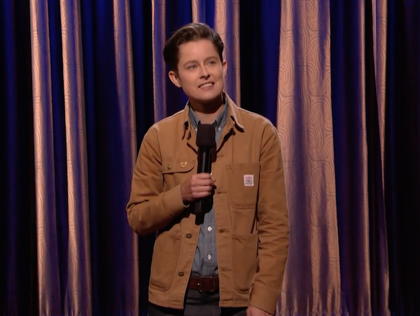 Rhea Butcher's debut on Conan