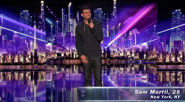 "Sam Morril's ""Judge Cuts"" performance on America's Got Talent 2016"
