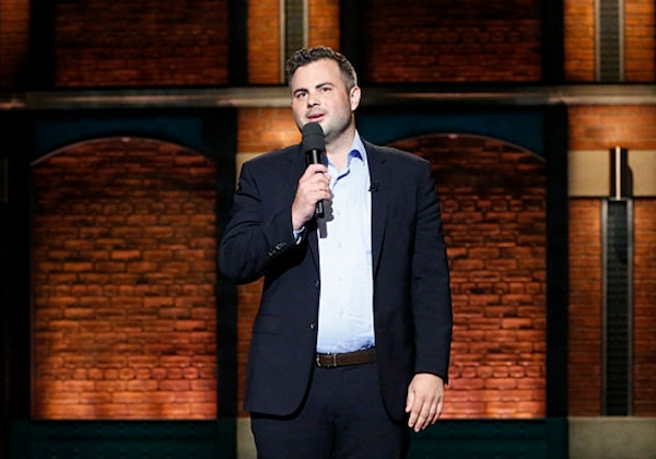 Brendan Eyre on Late Night with Seth Meyers