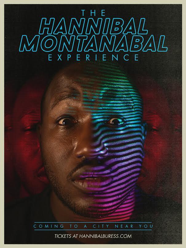 Hannibal Buress's Hannibal Montanabal Experience 2016 stand-up comedy tour