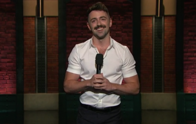 Matteo Lane on Late Night with Seth Meyers