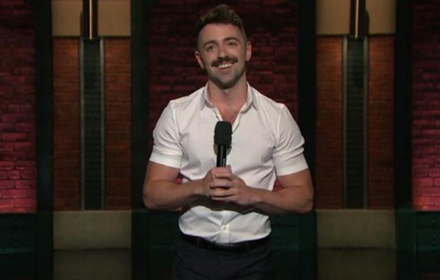 Matteo Lane on Late Night with Seth Meyers