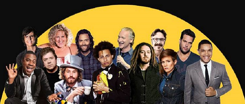 2016 New York Comedy Festival headlined by Patton Oswalt, Marc Maron, Dane Cook, Trevor Noah, Tig Notaro, Tim Minchin