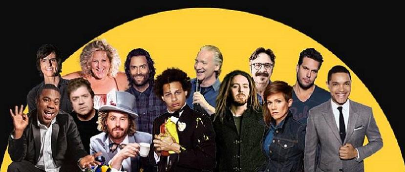 2016 New York Comedy Festival headlined by Patton Oswalt, Marc Maron, Dane Cook, Trevor Noah, Tig Notaro, Tim Minchin