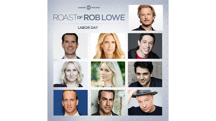 Here are the comedians and celebrities for the Comedy Central Roast of Rob Lowe