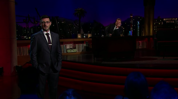 Tommy Johnagin on The Late Late Show with James Corden