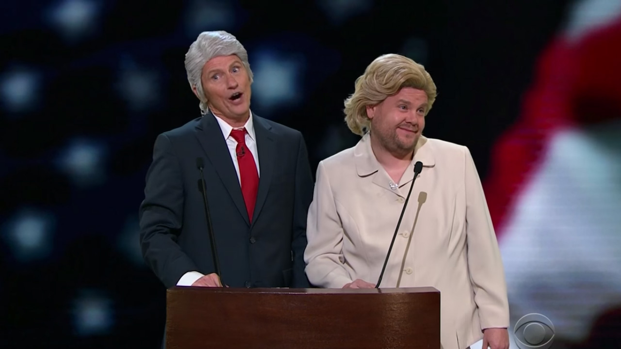 """Denis Leary updates classic song with James Corden: """"Trump's an Asshole"""""""