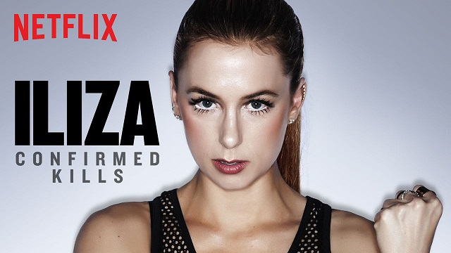 """Iliza Shlesinger's third Netflix special, """"Confirmed Kills"""" launches as she embarks on late-night development deal with Freeform"""