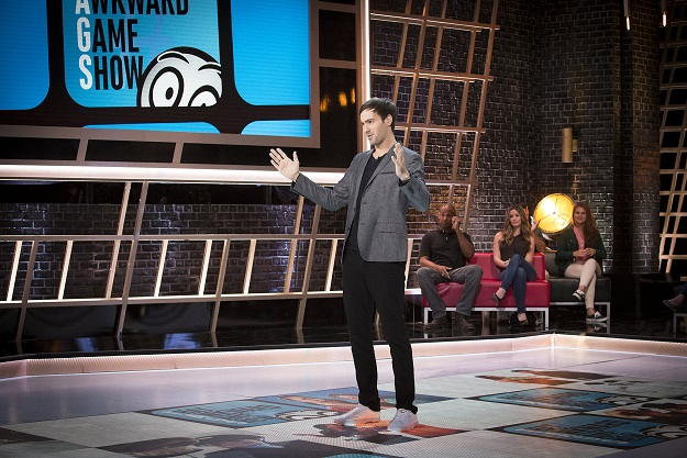 "First look: Jeff Dye hosting ""That Awkward Game Show"" for Spike TV"