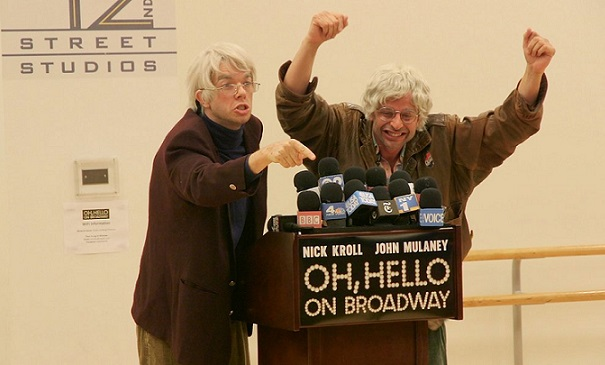 "Watch, listen to the ""Oh, Hello"" on Broadway press conference"