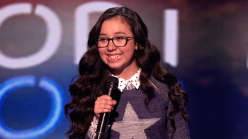 Lori Mae Hernandez's semifinals performance on America's Got Talent 2016