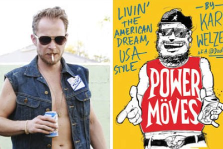 "Behold the aborted animated TV pilot for ""Power Moves"" starring Karl Welzein (@DadBoner)"