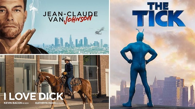 Amazon picks up The Tick, I Love Dick and Jean-Claude Van Johnson all to series