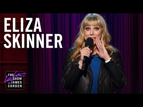 Eliza Skinner on The Late Late Show with James Corden