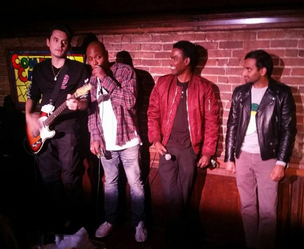 All-Star Comedy Cellar Late-Night Jam: Dave Chappelle, Chris Rock, Aziz Ansari and John Mayer