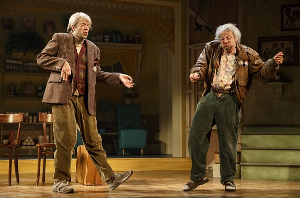 """Review: Nick Kroll and John Mulaney in """"Oh, Hello"""" on"""