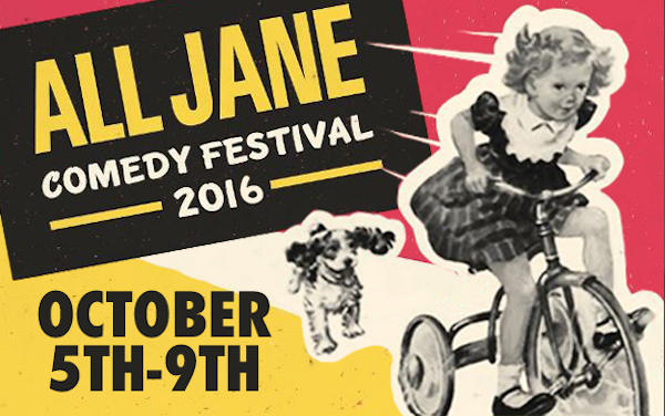Scenes from the 2016 All Jane Comedy Festival