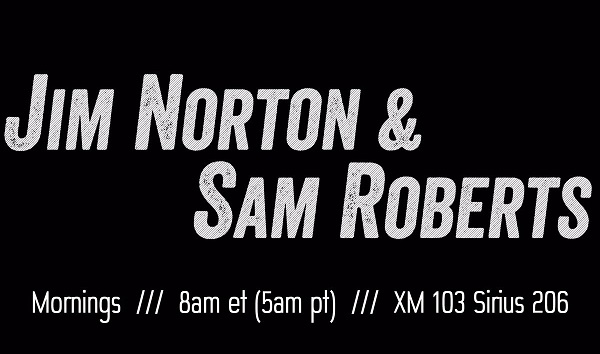 SiriusXM relaunches Opie Radio channel, now with Jim Norton & Sam Roberts in the morning, Opie in the afternoon