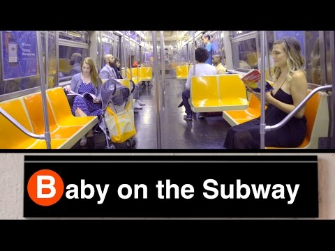 "Camille Harris music video for ""Baby on the Subway"""