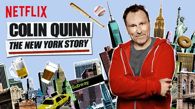"""Review: Colin Quinn, """"The New York Story"""" on Netflix"""