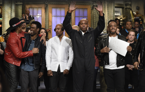 Dave Chappelle and Saturday Night Live hit the right notes, and the most inside notes, after Election 2016