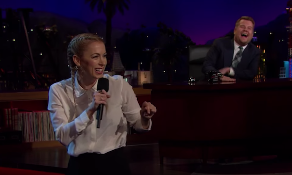Iliza Shlesinger on The Late Late Show with James Corden