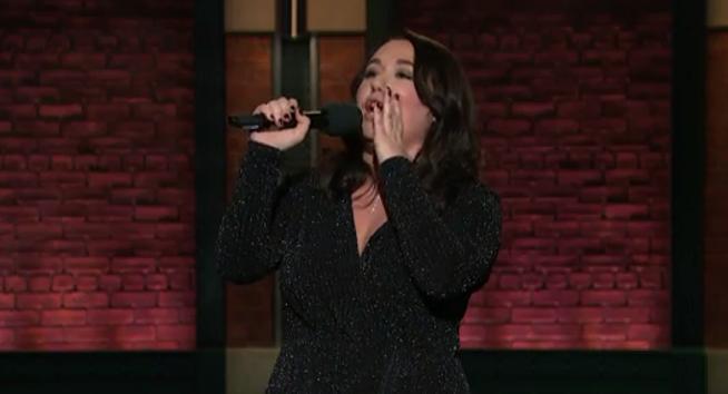 Liza Treyger on Late Night with Seth Meyers